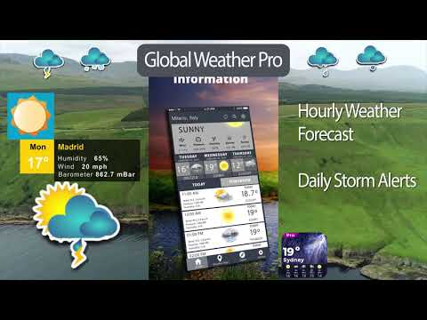 Global Weather Channel 2019 Weather Channel App - Apps on