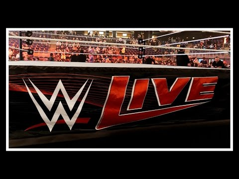 """WWE LIVE EVENT"" / GREENSBORO COLISEUM /  EPIC MUST SEE!!!"