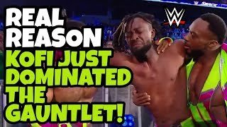 REAL REASON Kofi Kingston Just Dominated The Gauntlet Match On WWE SD Live 2/12/19