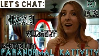 Let's Chat: Haunting of Sunshine Girl, Surgery, PO Box & Random Bits(What does The Haunting of Sunshine Girl Network, Surgery, and Snail Mail have in common?...ME!...kind of. Watch the short here: https://youtu.be/VtyXSnV5PS0 ..., 2016-05-28T20:15:01.000Z)