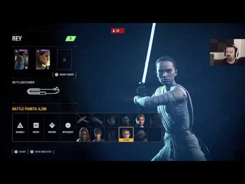 Star Wars Battlefront II Launch MP pt22 - Great Performance! Except For Rey, lol