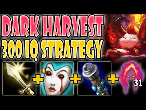 EASIEST WAY TO GET EARLY DARK HARVEST STACKS! INSANE DAMAGE! Teemo Vs Garen S9 Ranked Commentary