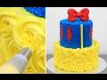 How To Make a Disney SNOW WHITE Cake - Pastel BLANCANIEVES by CakesStepbyStep
