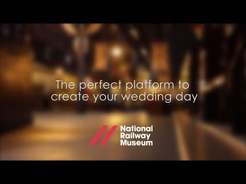 Weddings at the National Railway Museum