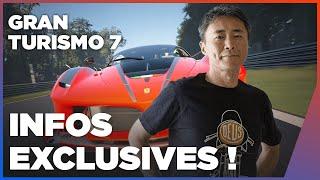 GRAN TURISMO 7 PS5 PS4 - TOUTES LES INFOS EXCLU ! Voitures, Modes, campagne... - Kazunori Yamauchi