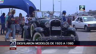 15 ENE 2018 DESFILE DE AUTOS ANTIGUOS EN SANTO DOMINGO