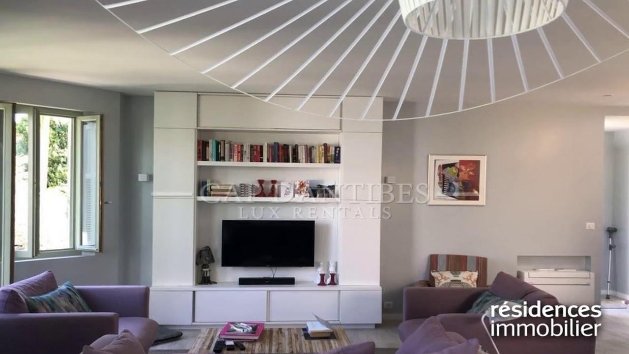 cap d 39 antibes appartement a vendre youtube. Black Bedroom Furniture Sets. Home Design Ideas