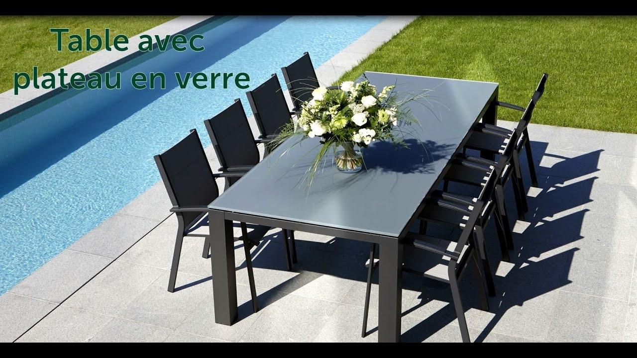 Comment monter une table de jardin modulo avec un plateau - Comment monter une serre de jardin ...