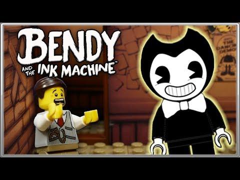 LEGO Мультфильм Бенди и чернильная машина - Глава 1 / LEGO Stop Motion, Animation