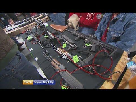 AG William Barr meets with lawmakers to talk gun legislation - EWTN News Nightly