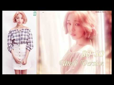 Baek A Yeon - So-so [Male Version]