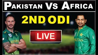 Pakistan Vs South Africa | 2nd Odi Live | Pakistan Vs South Africa 2nd Odi Live Streaming