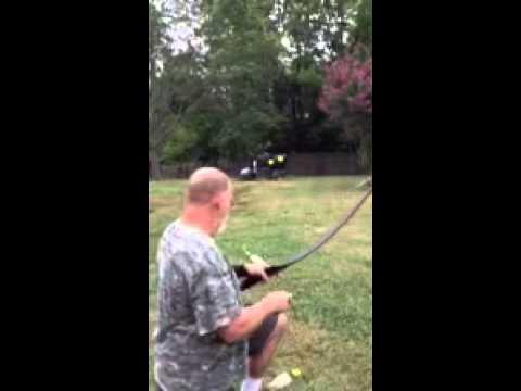 Archery Balloons - Instinctive Shooting by Jeff Moore, 3dogshandcraftedlongbows