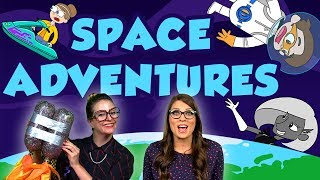 Space Adventures! Travel to the Stars with Drew Pendous, Ms. Booksy and Crafty Carol | Cool School