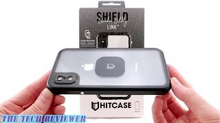 Hitcase Shield Link: Super Slim Waterproof Case with Magnetic Lens Attachment for iPhone X!