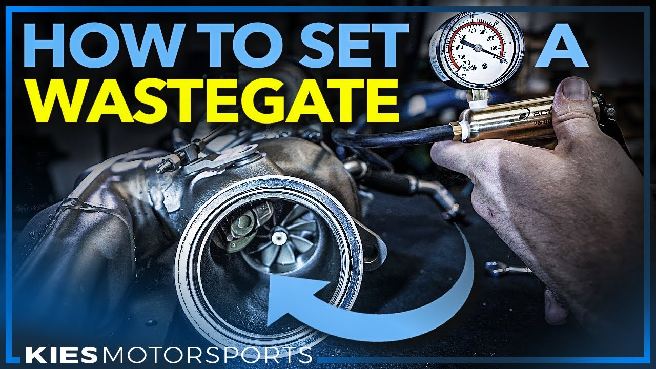 How to set a Pneumatic Wastegate (PWG | MWG) F30 BMW 335i Pure Turbo Stage 2