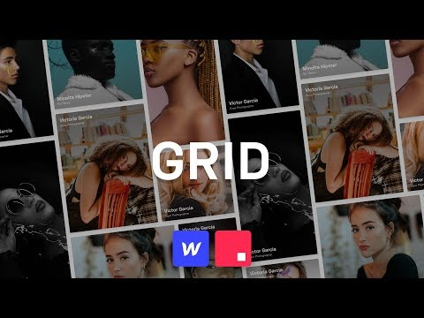 LIVE: Playing with CSS Grid on Webflow