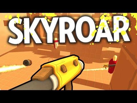 CASUAL LEG SHOOTER | Let's Play SkyRoar | Free Indie Online FPS Alpha