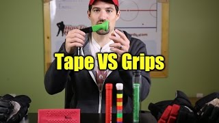 Hockey Tape vs Grips - Tape Alternatives