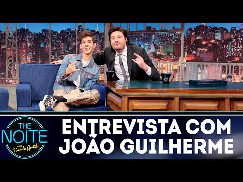 Entrevista com João Guilherme  The Noite 250718