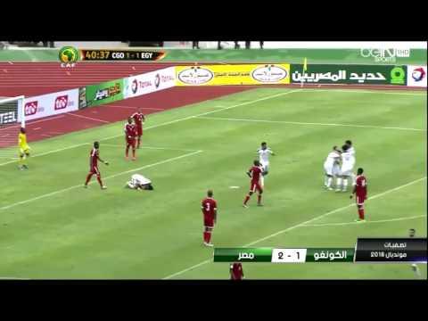 Mondial-2018 (qualifications) : Congo 1 - Egypte 2 (les buts)