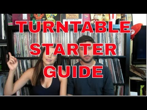 Turntable Starter Guide