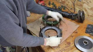 Slip Clutch Disassembly & Disk Replacement on John Deere 336 Baler