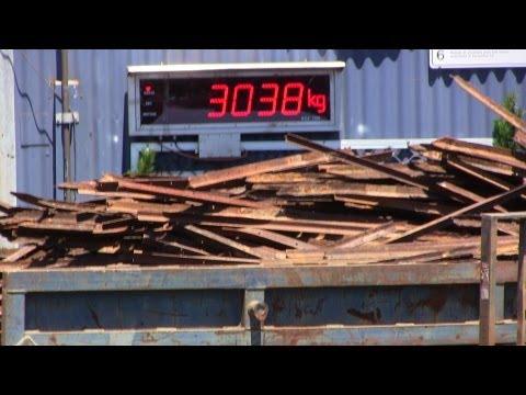 Cashing in 4.86 Tons Scrap Iron Steel