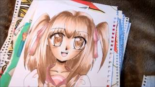 My Manga / Anime Style Drawings and Sketches (2010-2013)