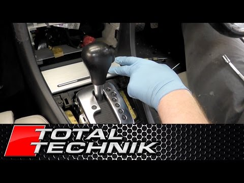 How to Remove Front Ashtray (Double Din) - Audi A4 S4 RS4 - B6 B7 - 2001 2008 - TOTAL TECHNIK
