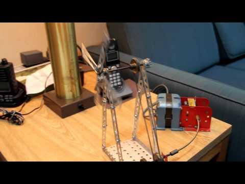 testing 60 year old erector set