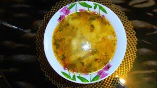 Суп с клецками  Dumpling soup