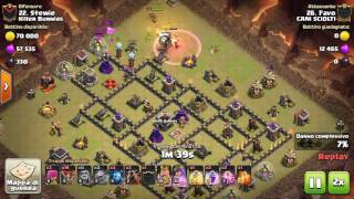 Clash of Clans - [CANI SCIOLT1] Vs [Killer Bunnies]