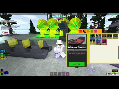 [ROBLOX: Miners Haven] - New Map + Updates + Masked man?