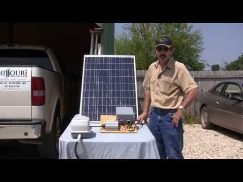 Solar panel pond aeration no battery using Suntaqe system part two