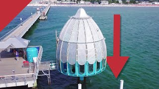 The diving gondola: a strange elevator to the ocean floor