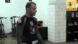 Александр Шлеменко. Стойка в ММА. Alexander Storm Shlemenko. Correct stand in MMA.