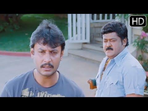 Agraja Kannada Movie   Darshan and Jaggesh super acting scene   Kannada Scenes   Sanjana