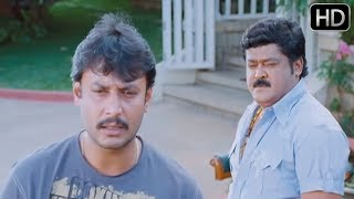 Agraja Kannada Movie | Darshan and Jaggesh super acting scene | Kannada Scenes | Sanjana