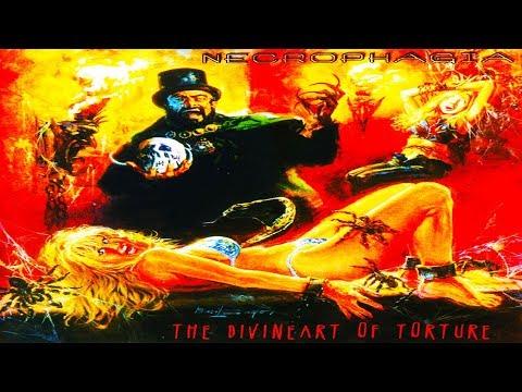NECROPHAGIA  The Divine Art of Torture Fulllength Album Death Metal