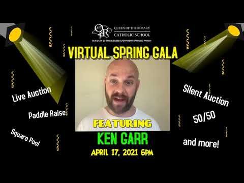 Queen of the Rosary School Virtual Spring Gala