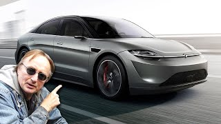 Sony Just Made a Car (and I Want It)