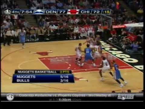 Nuggets at Bulls 111009