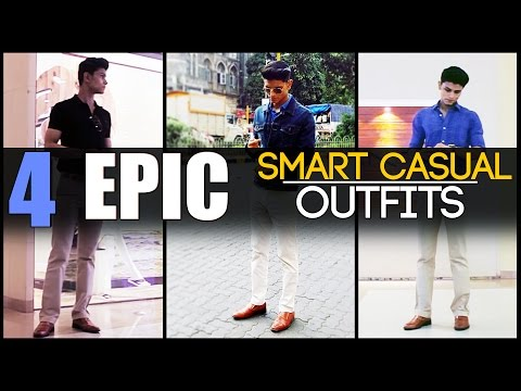 4 EPIC Smart Casual OUTFITS Every Man Needs | Classic Men's Look-Book | Mayank Bhattacharya