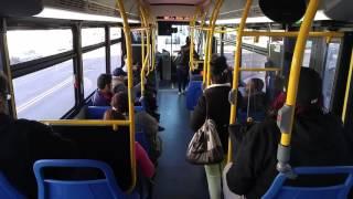 Brand new MBTA bus