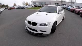 Walkaround Review of 2011 BMW M3 white 7491P