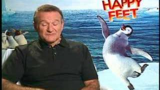 Happy Feet Robin Williams interview