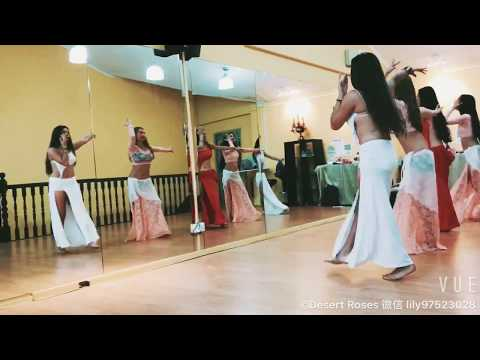 Belly Dance Fitness Class with Desert Roses