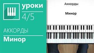 Аккорды на пианино (4/5) - Минорные аккорды (its-easy.biz)