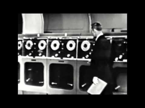 Classic Commercials: Remington-Rand UNIVAC Computer 1956 future weather forecasting [cc]